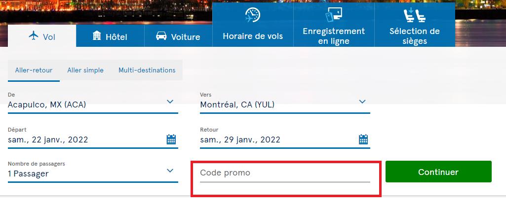 Où mettre un code promo 3SUISSES valide ?
