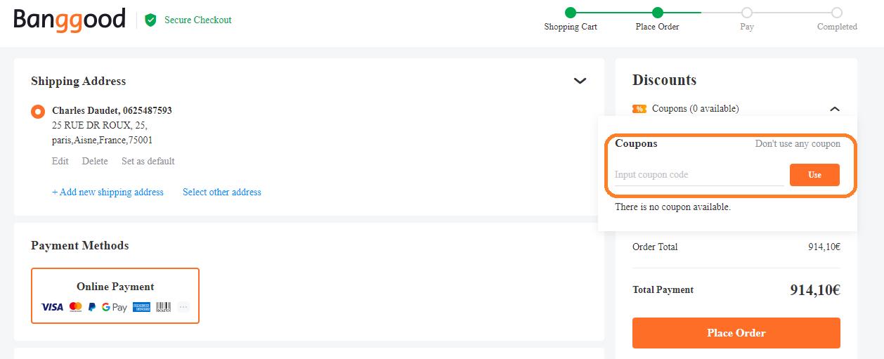 Comment utiliser un code promo Banggood valide ?