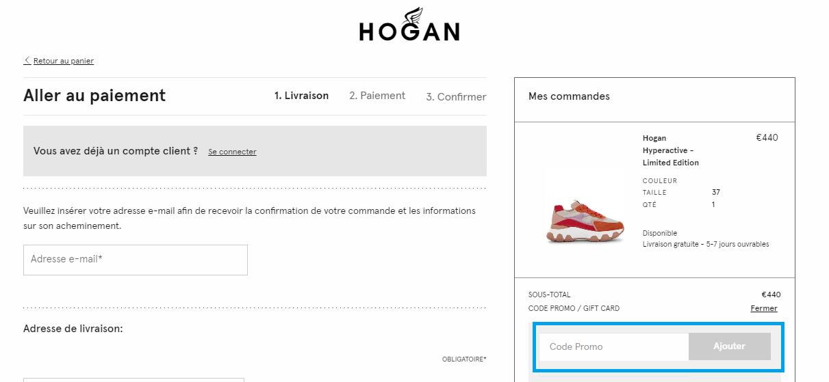 Comment utiliser un code promo Hogan valide ?
