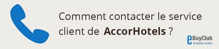 Comment contacter le service client AccorHotels.com ?