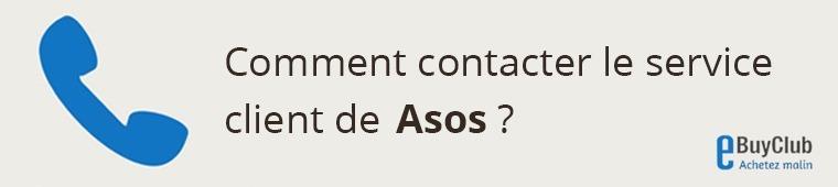 Comment contacter le service client Asos ?