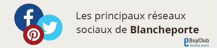 Quels réseaux sociaux pour Blanche Porte?