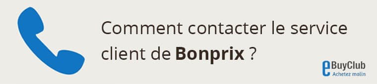 Comment contacter le service client Bonprix ?
