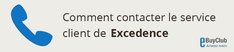 Comment contacter le service client Excedence ?