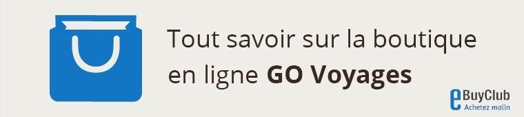 Tout savoir sur GO Voyages !