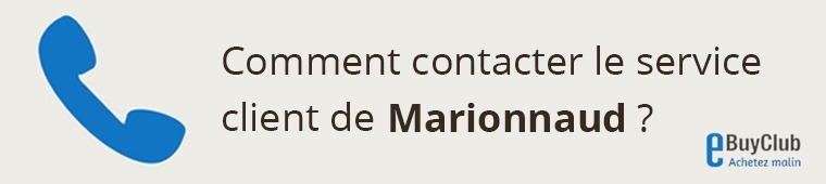 Comment contacter le service client Marionnaud ?