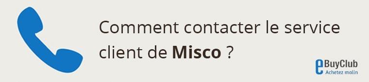 Comment contacter le service client Misco ?