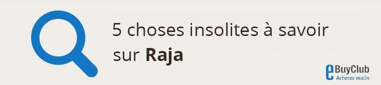 5 choses à connaître sur Raja