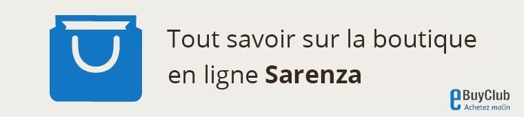 Tout savoir sur Sarenza !