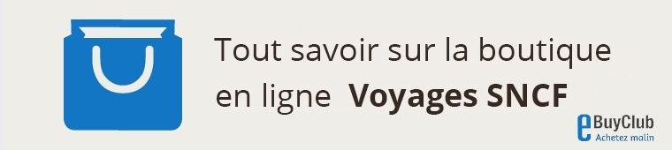 Tout savoir sur Voyages SNCF !