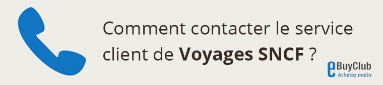 Comment contacter le service client Voyages SNCF ?