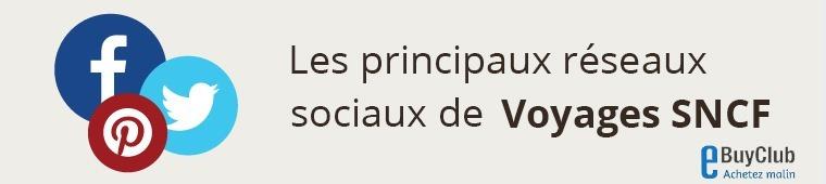 Quels réseaux sociaux pour Voyages SNCF ?