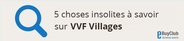 5 choses à connaître sur VVF Villages