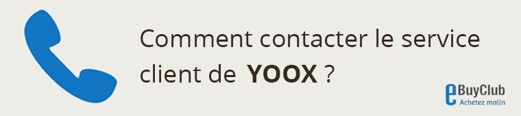 Comment contacter le service client YOOX ?