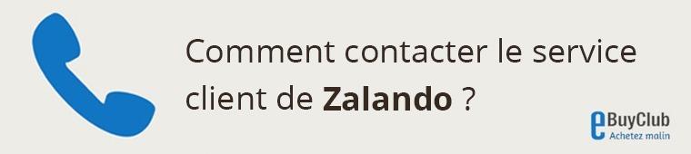 Comment contacter le service client Zalando ?