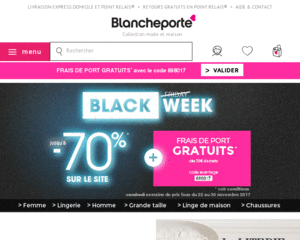 Code promo blancheporte 4 en cashback cadeau offert - Code promotion blanche porte ...