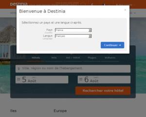 destinia promo codes paypal