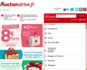 Carte Auchan Drive.Avis Auchan Drive 518 Avis Clients De Auchan Drive