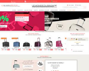 code promo le monde du bagage et r duction le monde du bagage ebuyclub. Black Bedroom Furniture Sets. Home Design Ideas