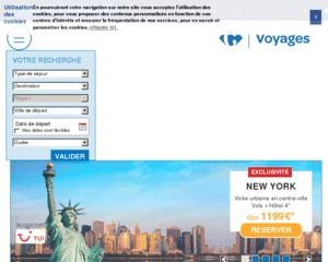 Avis Carrefour Voyages