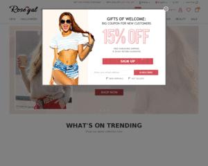 Avis Rosegal - 126 avis clients de Rosegal
