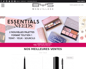 Code promo bys maquillage et r duction bys maquillage - Reduction la redoute prix rouge ...