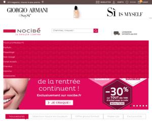 Code Promo Nocibe Livraison Offerte Avec Nocibe Pour 80 D Emplette