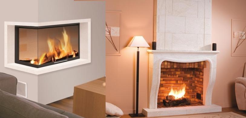 chemin e foyer ouvert ou ferme. Black Bedroom Furniture Sets. Home Design Ideas