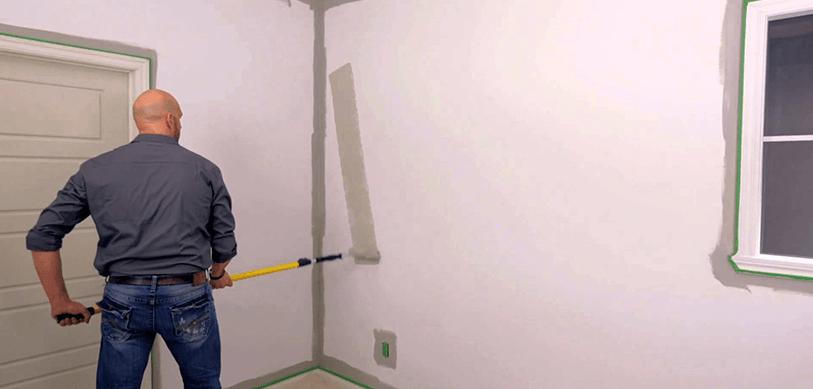 D coration appartement tout pratique peindre un mur en - Repeindre un mur deja peint ...